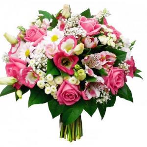 Купить свадебный букет-№109 в Хабаровске