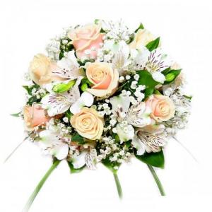 Купить свадебный букет-№120 в Хабаровске