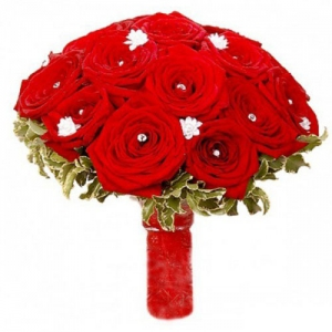 Купить свадебный букет-№77 в Хабаровске