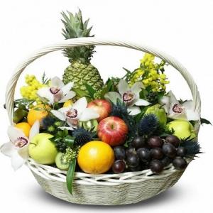 Купить корзина из фруктов №6 в Хабаровске