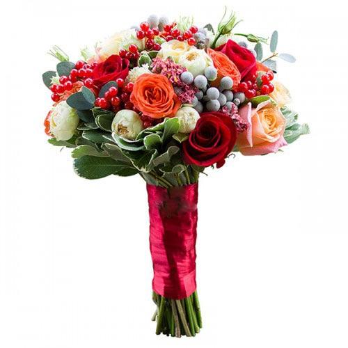 Купить свадебный букет-№105 в Хабаровске