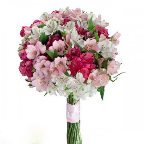 Купить свадебный букет-№112 в Хабаровске