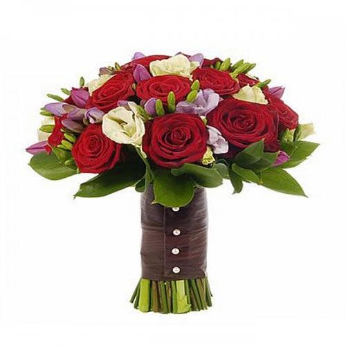 Купить свадебный букет-№117 в Хабаровске