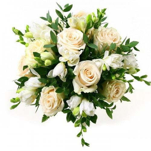 Купить свадебный букет-№84 в Хабаровске