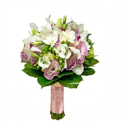 Купить свадебный букет-№86 в Хабаровске