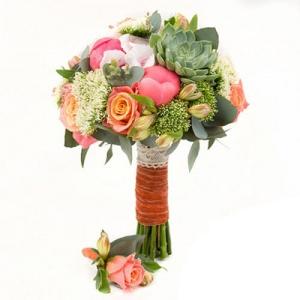 Купить свадебный букет-№106 в Хабаровске