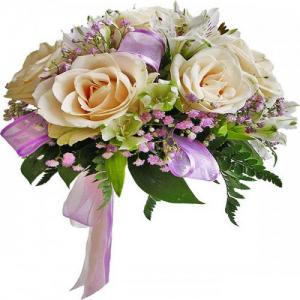 Купить свадебный букет-№114 в Хабаровске