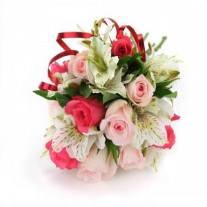 Купить свадебный букет-№62 в Хабаровске