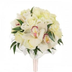 Купить свадебный букет-№79 в Хабаровске