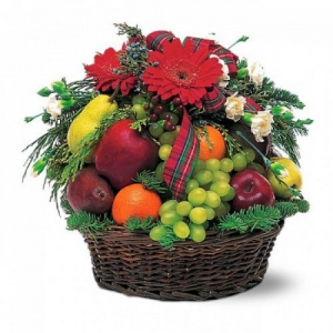 Корзины из фруктов