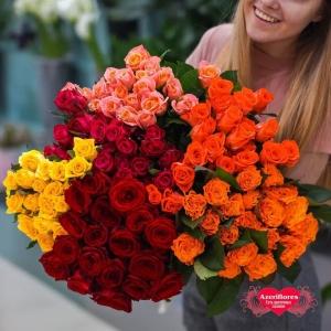 Свежий завоз цветов