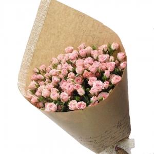 Купить букет из 15 кустовых роз в Хабаровске