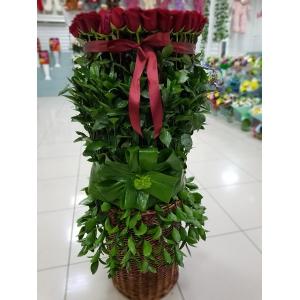 Купить букет из 101 розы в Хабаровске