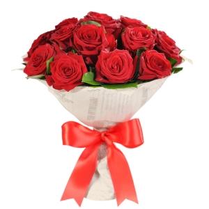Купить букет из красных роз в Хабаровске