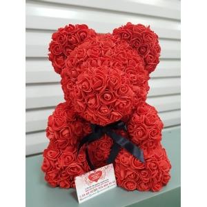 Купить медведя из фоамирановых роз в Хабаровске