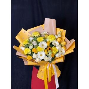 Купить букет «Лимонный фрэш» с доставкой в Хабаровске