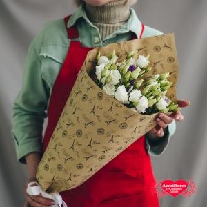 Купить букет «Нежность в крафте» в Хабаровске