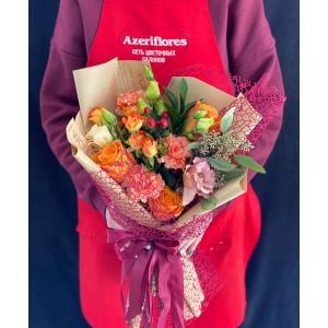 Купить букет «Осенние краски» с доставкой в Хабаровске