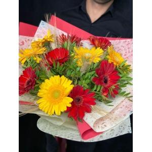 Купить букет «Осенний листопад» с доставкой в Хабаровске