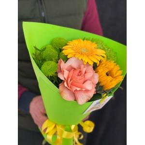Купить букет «Сентябрь» с доставкой в Хабаровске