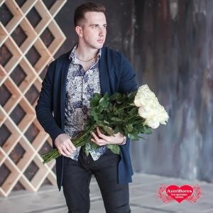 Купить букет из 51 Голандской розы в Хабаровске