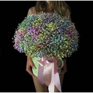 Купить коробку цветов «Единорожка» с доставкой в Хабаровске