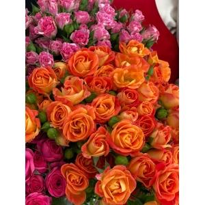 Купить кустовую розу поштучно с доставкой в [r-seoseo-city-name-pp]