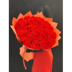 Купить охапку цветов «Взрыв эмоций» с доставкой в Хабаровске