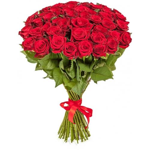 Купить букет из 51 розы в Хабаровске