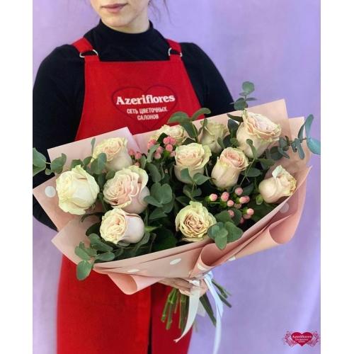 Купить букет «Розовая нежность» с доставкой в Хабаровске
