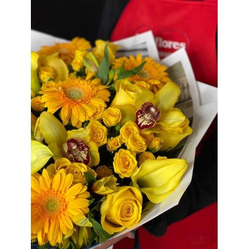 Купить букет «Солнечный день» с доставкой в Хабаровске