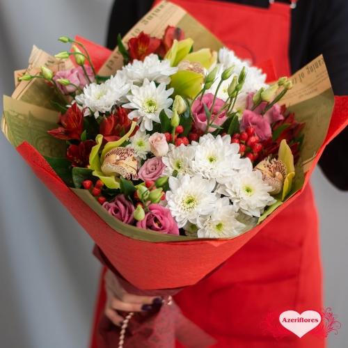Букет «Вкус весны» с доставкой в Хабаровске