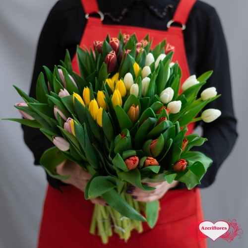 Купить тюльпаны с доставкой в Хабаровске