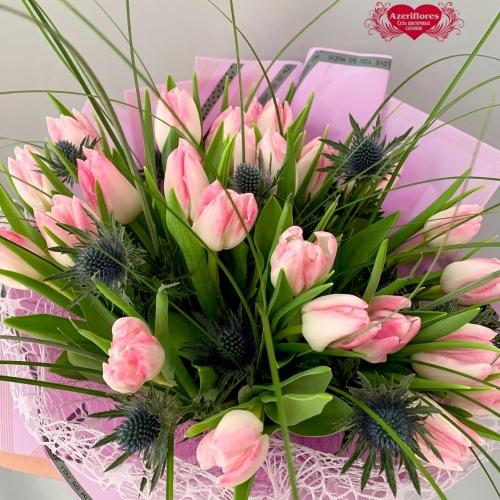 Купить тюльпаны с колючками в Хабаровске